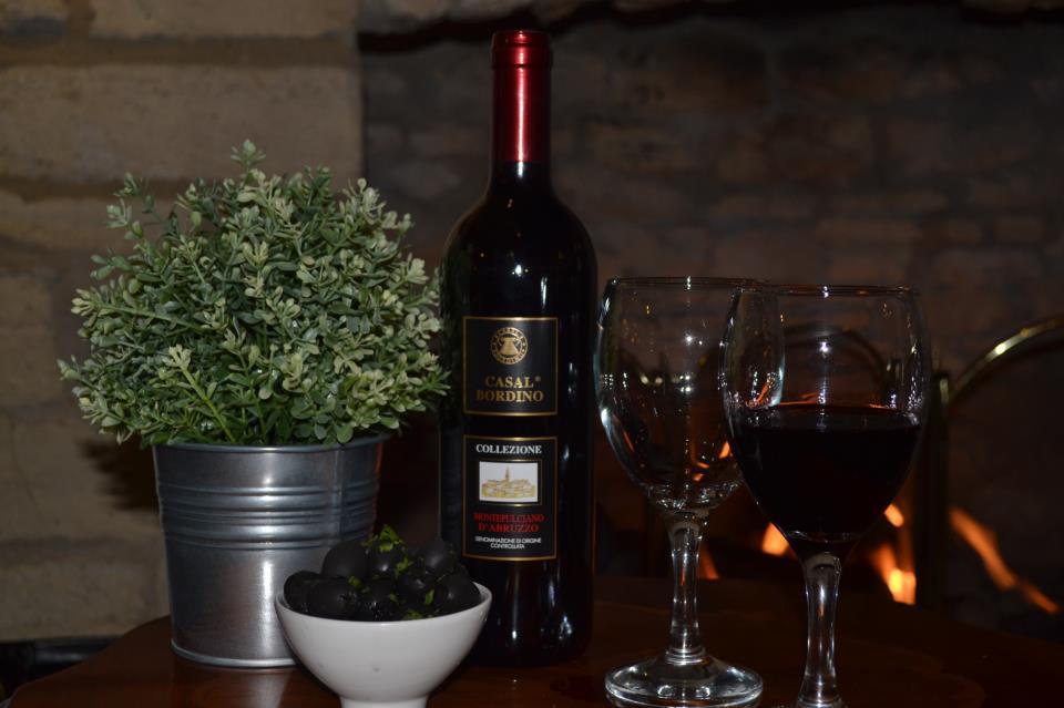 Enjoy a glass of wine