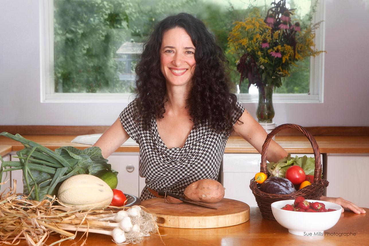 Novembre Mercier, chef consultante, coach en santé intégrative, cuisine