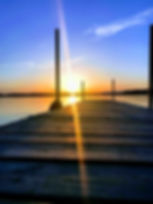 Robeds Lake Resort Sunset