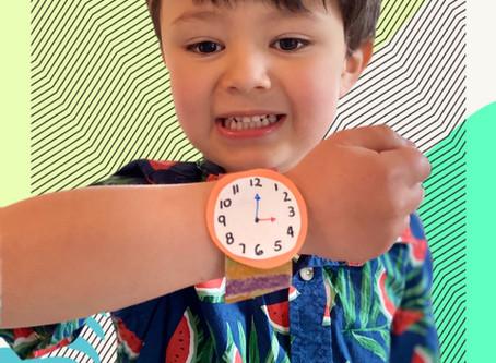 """El Reloj Craft- """"¿Qué hora es?"""""""