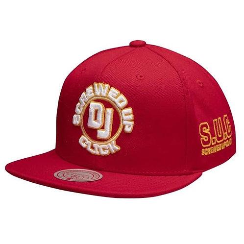 M&N x Dj Screw S.U.C. Snapback Hat