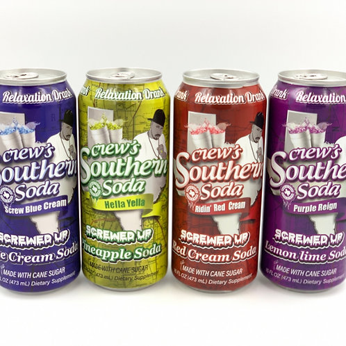 Screw's Southern Soda 4 pack