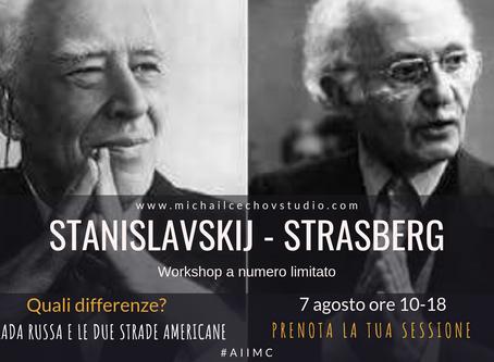 Stanislavskij, Strasberg - Acting workshop