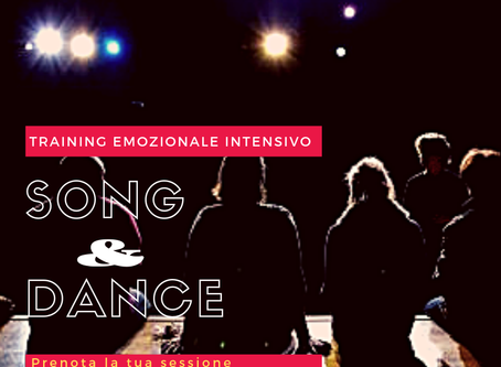 Song & Dance - Sessione acting