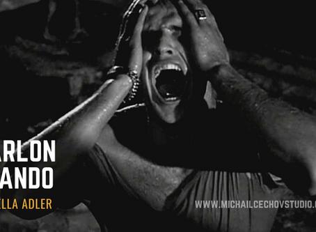 Marlon Brando & Stella Adler