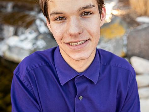High School Senior- Connor