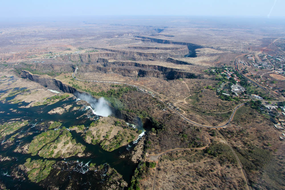 Victoria Falls from Above