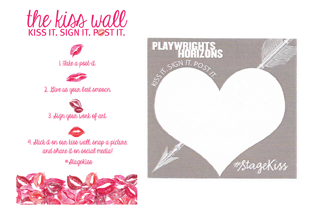 Stage Kiss: The Kiss Wall