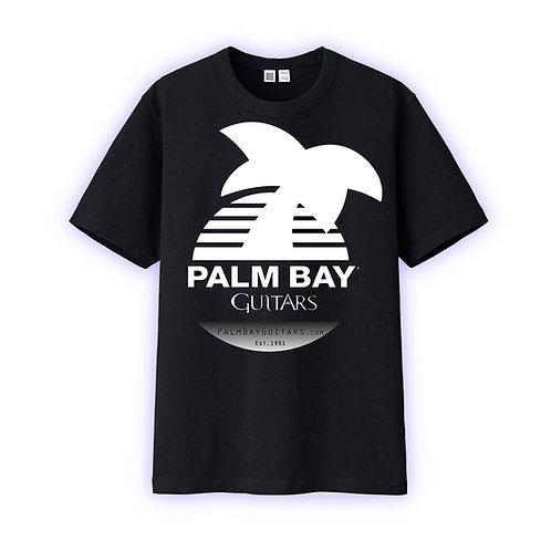 T-shirt - black with white logo