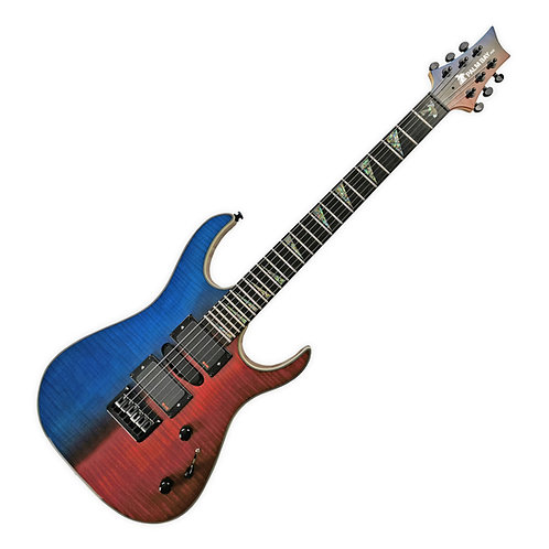 Avalanche AXX3-EMG - red/blue (hardshell case included)