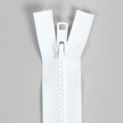 Fermeture injectée séparable 5mm blanc YKK