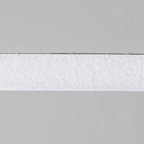 Ruban auto-agrippant velours 20mm Blanc