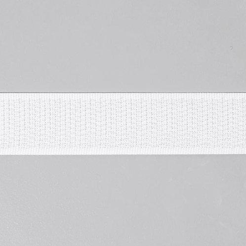Ruban auto-agrippant crochet 20mm Blanc