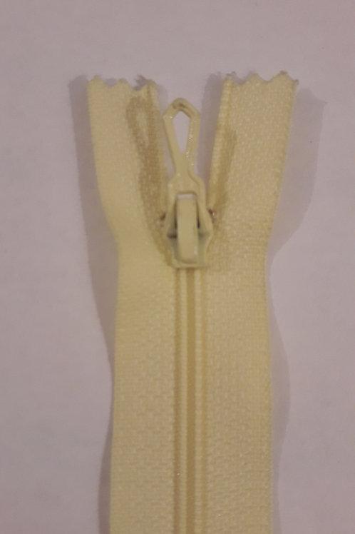 Fermeture Z51 10 à 20cm 4mm non-détachable vanille 602