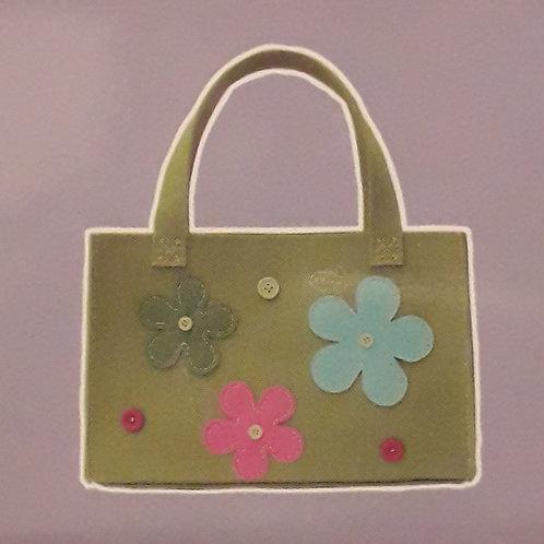 Kit créatif couture Sac vert
