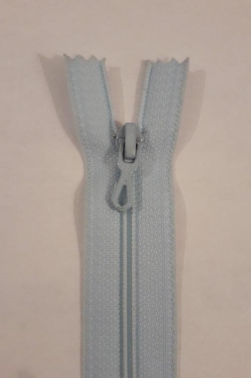 Fermeture Z51 10 à 20cm 4mm non-détachable bleu azur 501