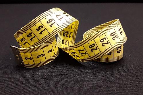 Mètre ruban 150 cm Jaune