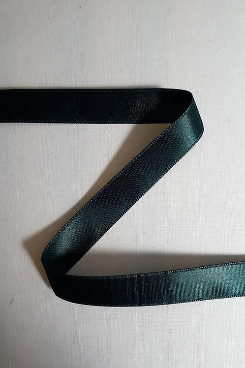 Ruban satin double face 38mm vert (066)