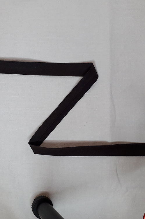 Biais 20mm brun foncé (916)