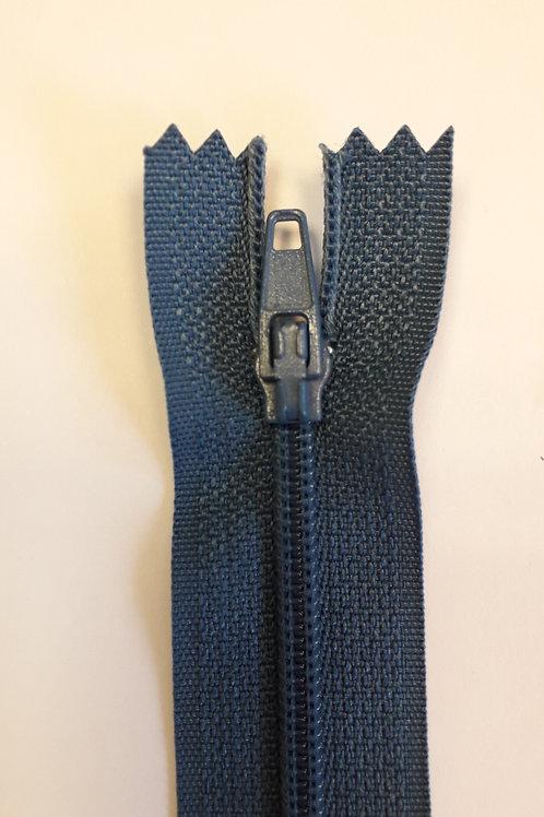 Fermeture Z51 10 à 20cm 4mm non-détachable bleu gitan 527