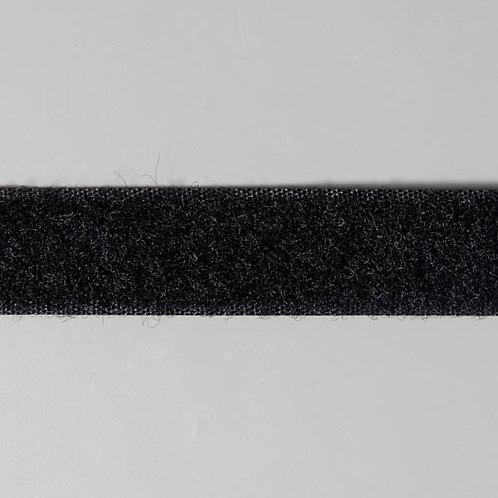 Ruban auto-agrippant velours 20mm Noir