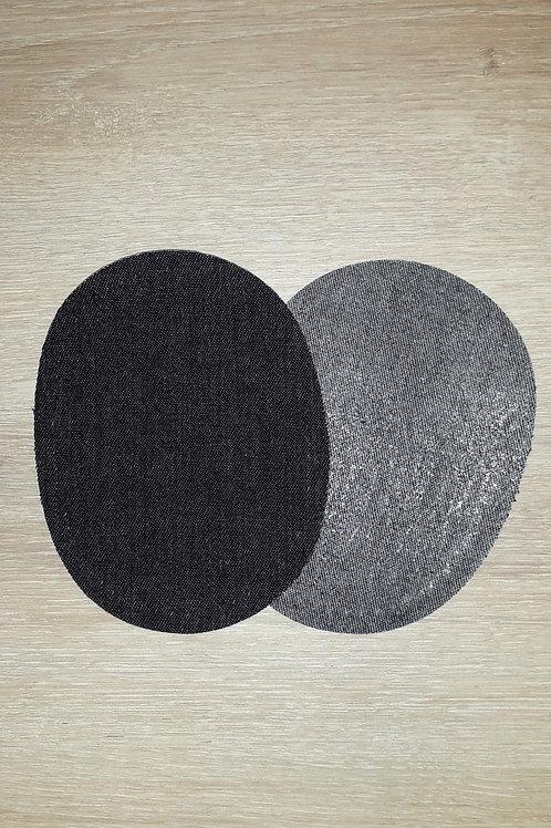Renforts coude et genou Jeans Noir