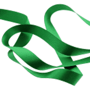 Ruban satin double face 6mm vert clair (229)