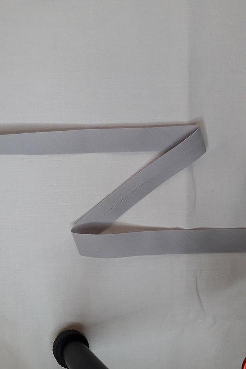Biais 20mm gris clair (567)