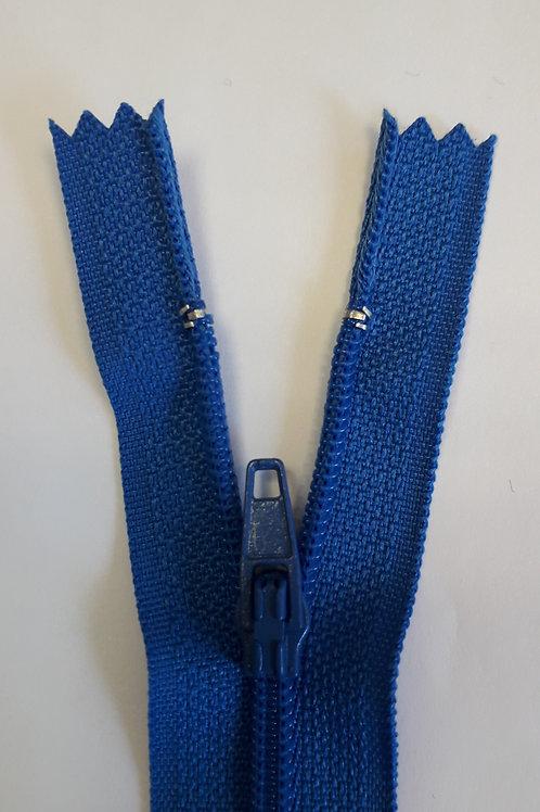 Fermeture Z51 10 à 20cm 4mm non-détachable bleu royal 515