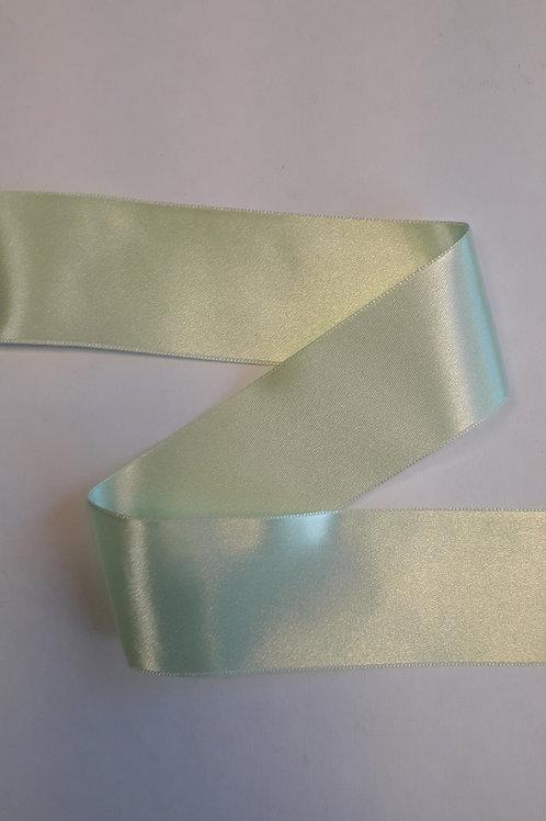 Ruban satin double face 38mm vert nil (010)