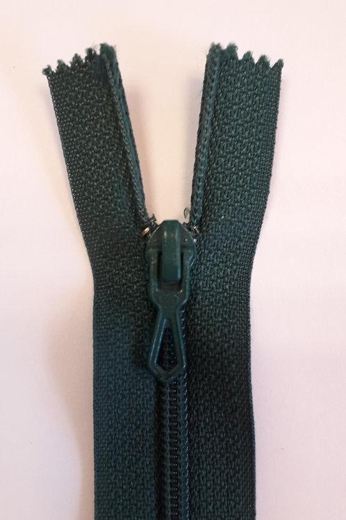 Fermeture Z51 10 à 20cm 4mm non-détachable vert sapin 771