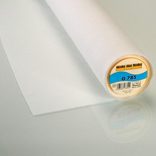 Entoilage thermocollant tissé G785 Blanc (501)