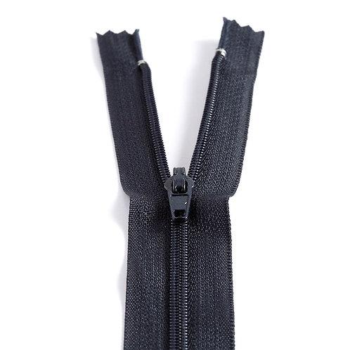 Fermeture Z51 10 à 20cm 4mm non-détachable bleu marine 570
