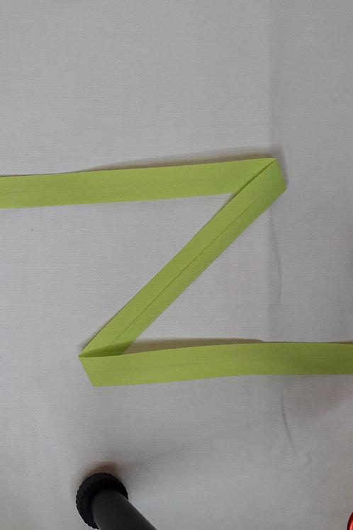 Biais 20mm vert anis (875)