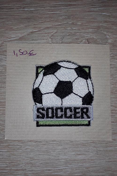 Ecusson thermocollant Soccer