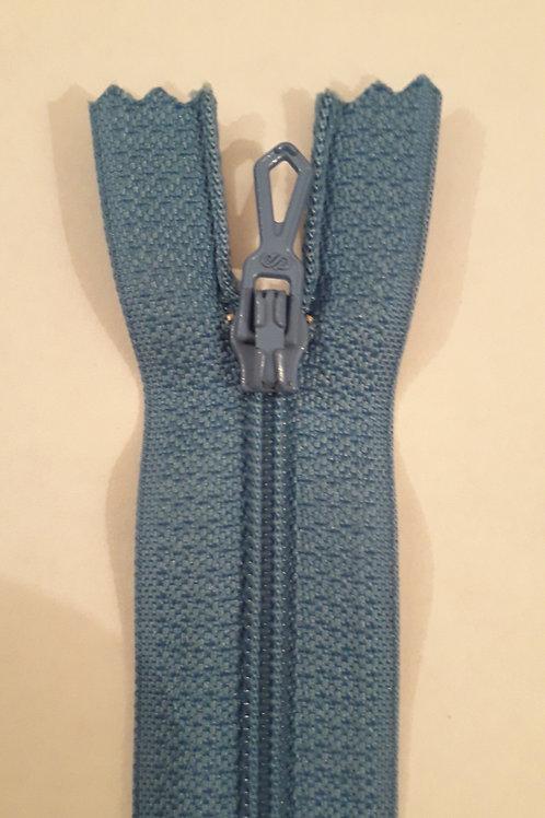 Fermeture Z51 10 à 20cm 4mm non-détachable bleu Floride 530