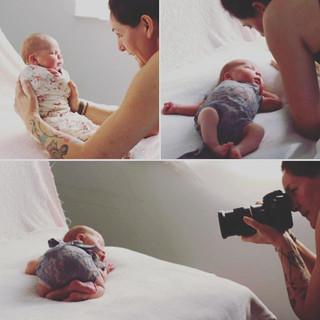 _work with baby Vera#newborn #lovemyjob