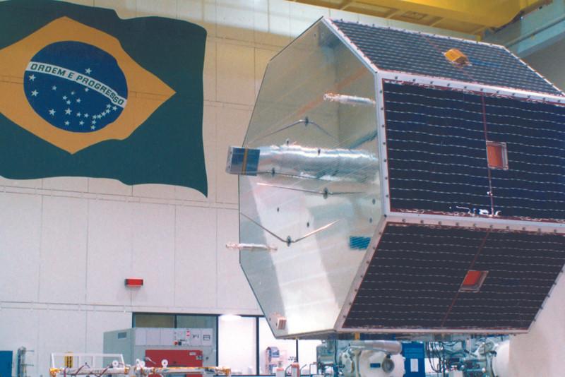 imagem do Satélite SCD-1