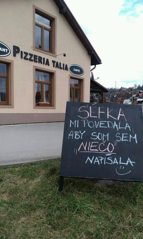 Exteriér reštaurácie