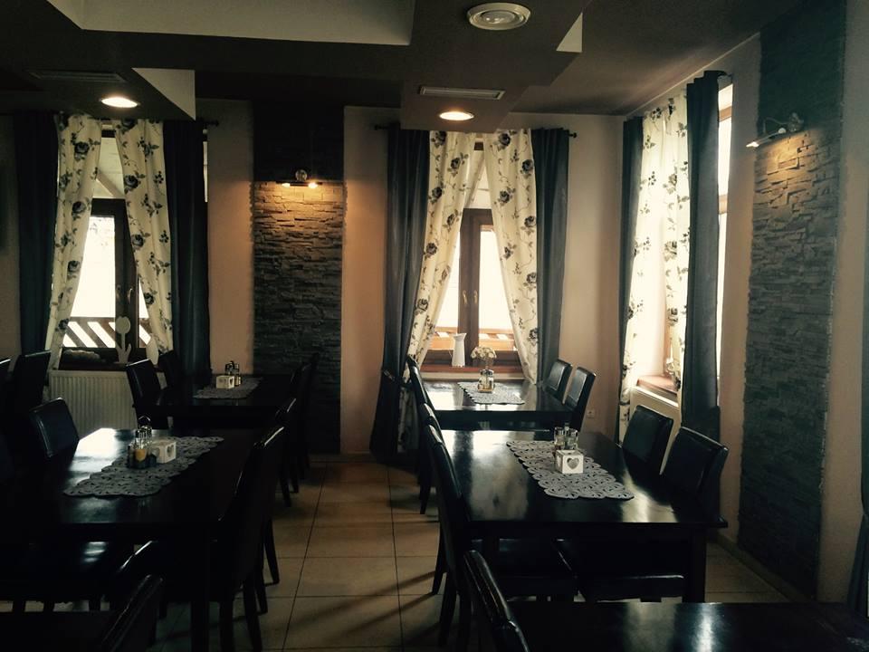 Interiér reštaurácie