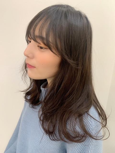 ☆前髪カットでイメチェン☆
