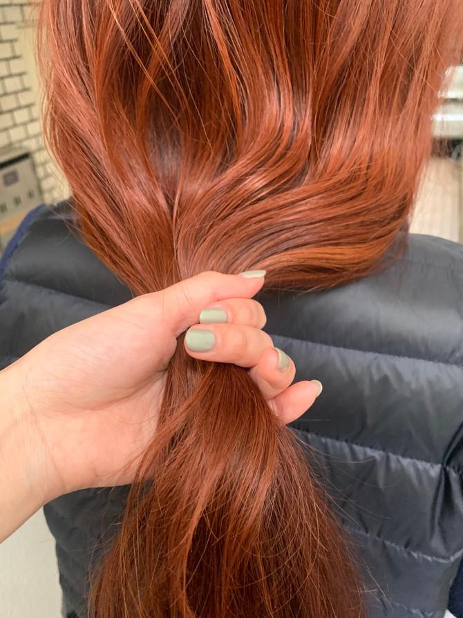 orange color◎