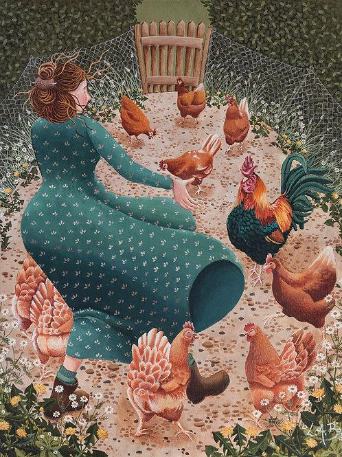 Chicken Lily