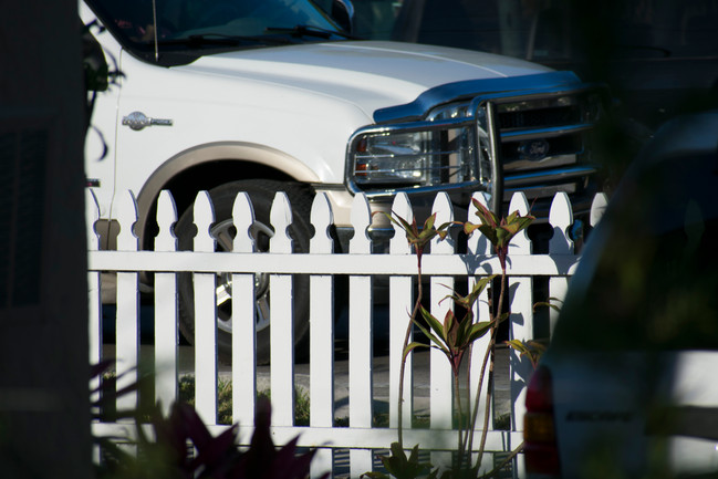 White Fence, White Walls