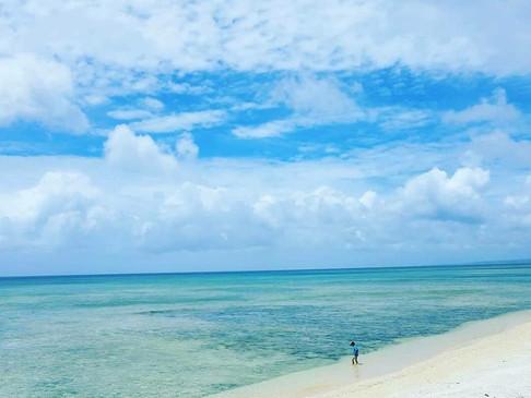 沖縄の天気は晴れ