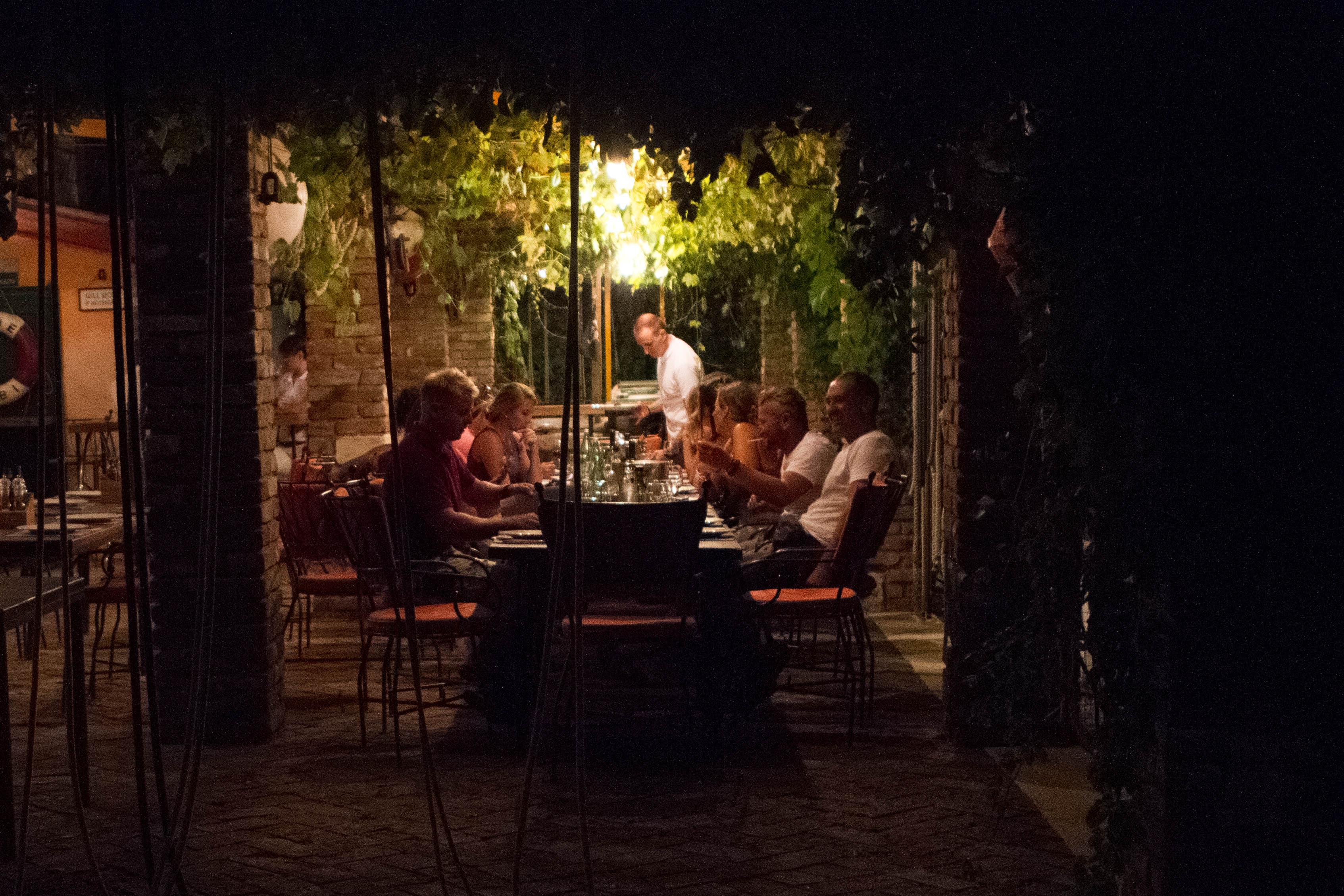Dining alfresco_Tuna Bar_Trpanj_Peljesac