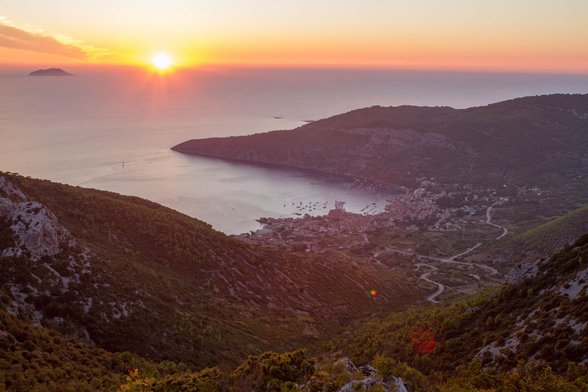Overlooking-Komiza-at-sunset_Vis-(photo-