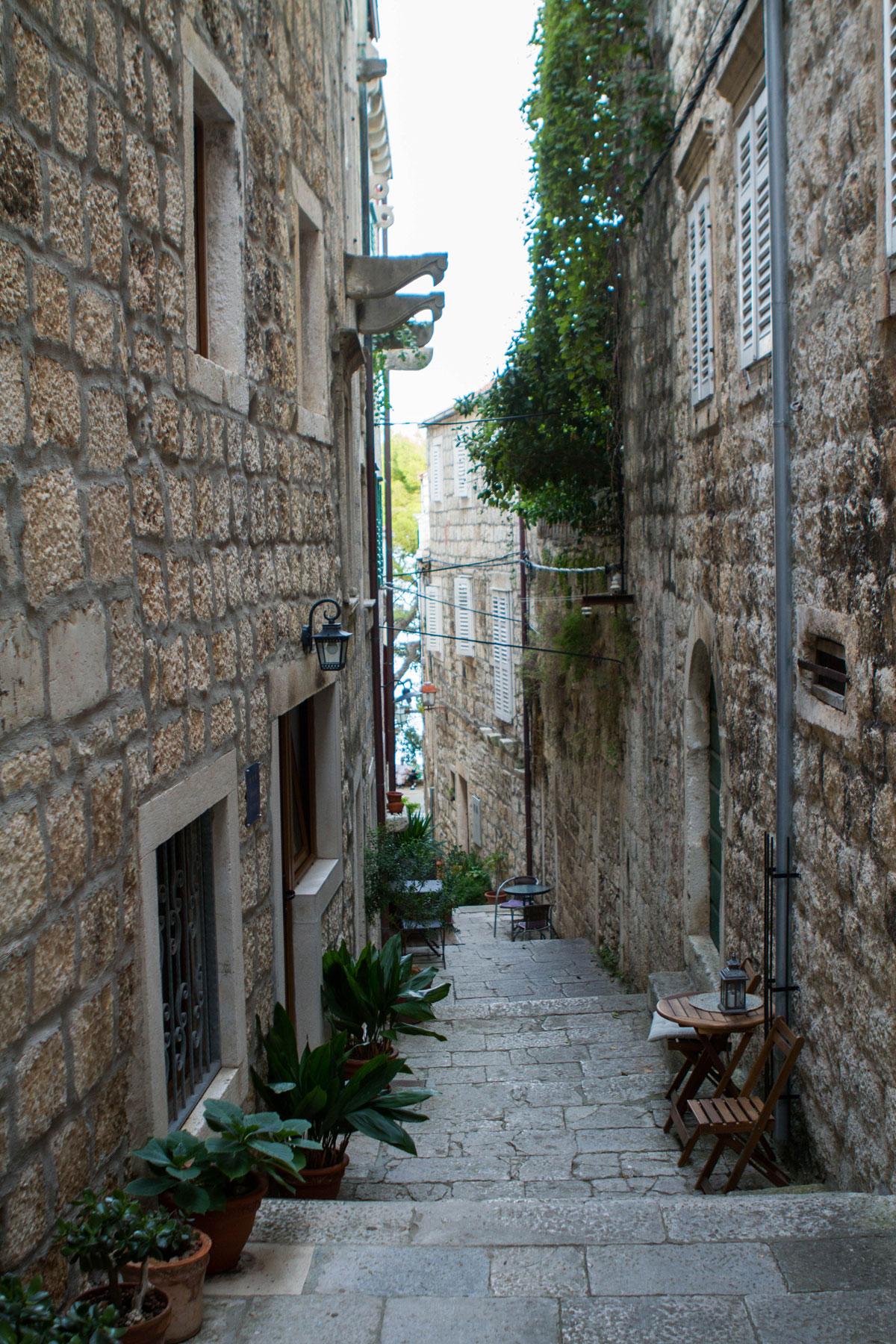 Streets-of-Korcula_Dalmatia-Coast-(photo