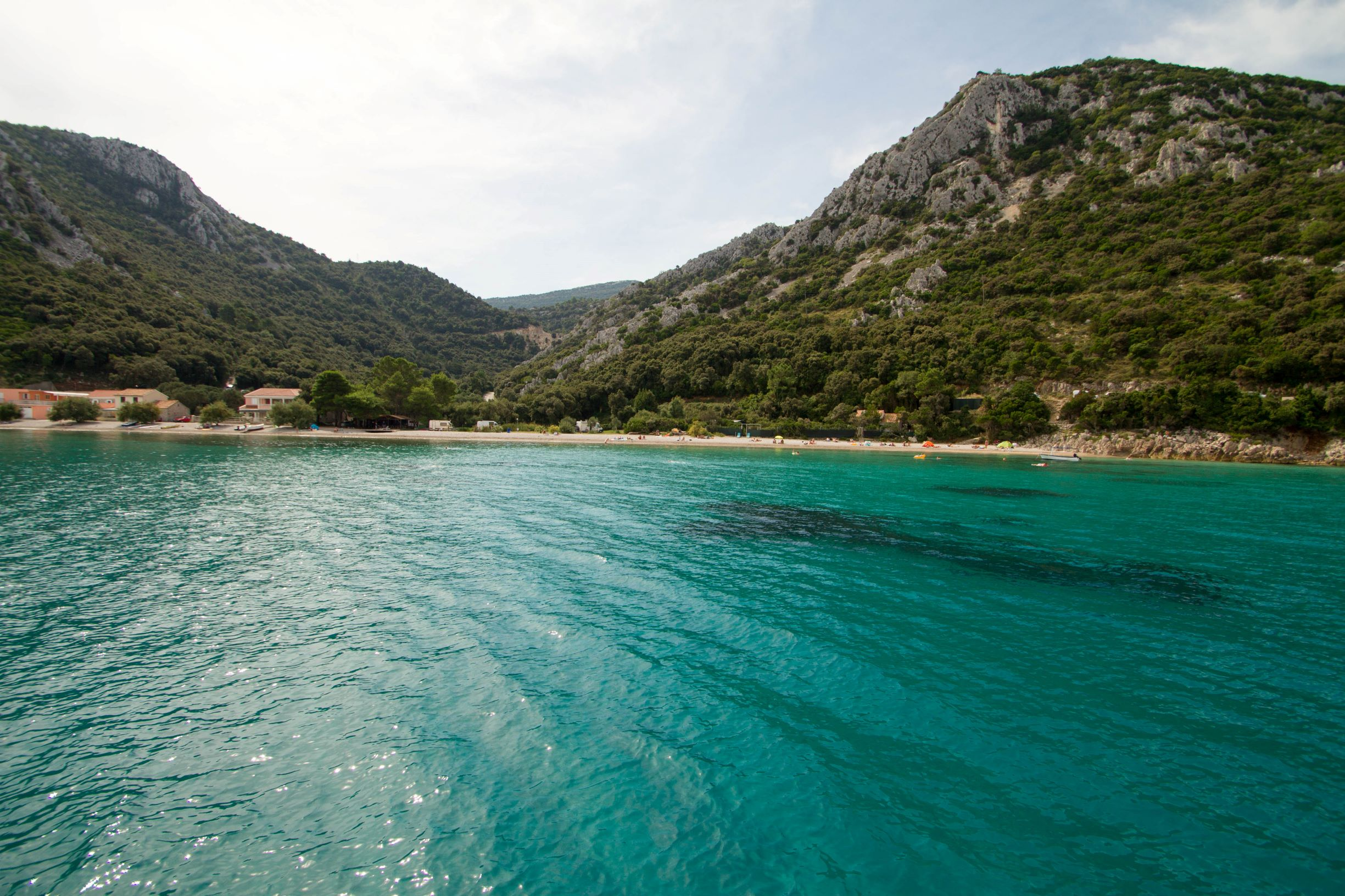 Beautiful bay_sailing Croatia Dalmatia C