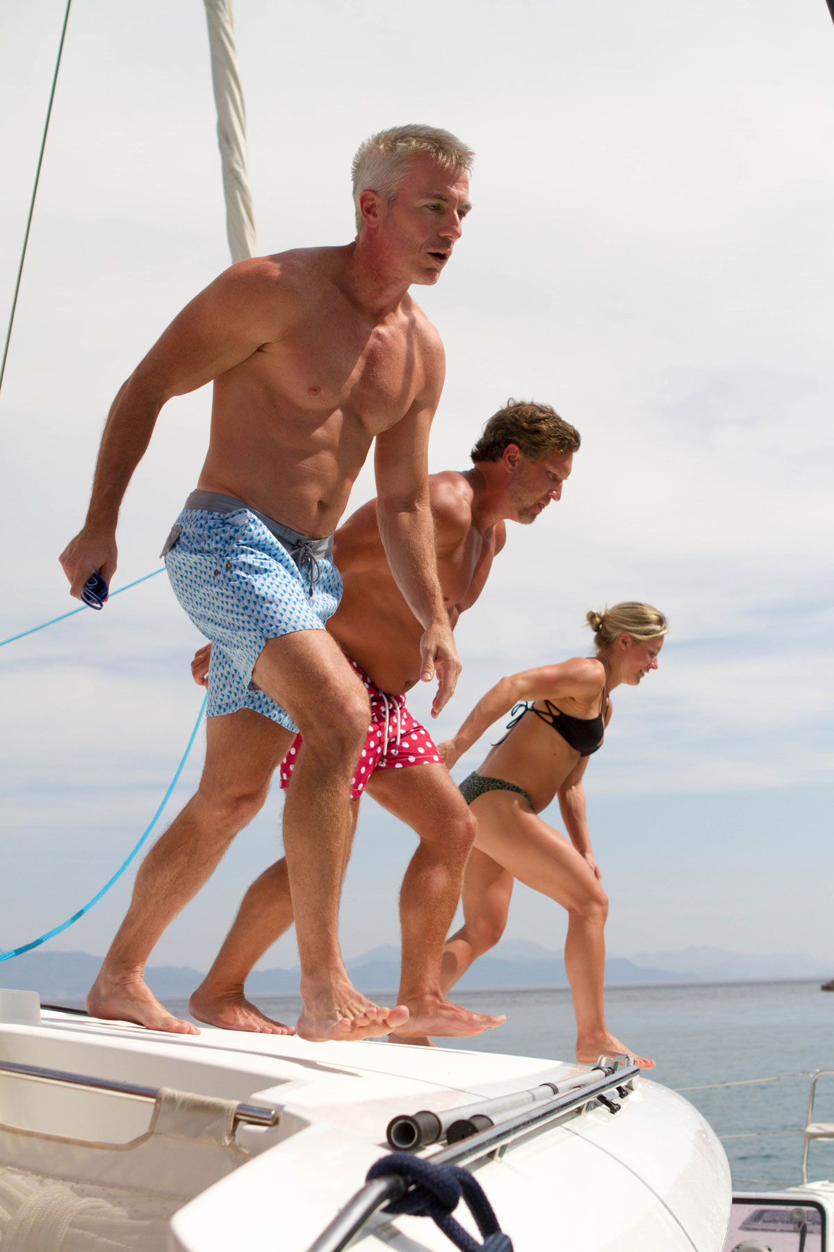 Jumping-off-Catamaran-_sailing-Adriatic_